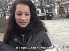 Big Titted Brunette Jocelyne Z Gets Her Shaved Pussy Fucked For Cash