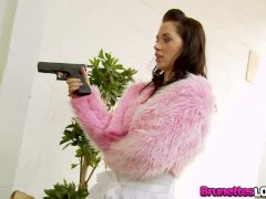 Brunettes Love Cock European Lady Kaia Kane Is Really Desperate For Dick
