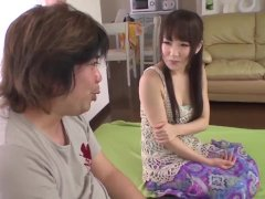 Ai Mizushima amazes with how slutty she can suck cock - More at 69avs com