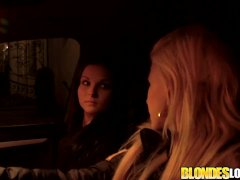 Blondes Love Penis Patrisha Cheats On Her Gf And Takes It Up The Booty