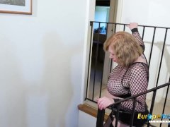 Big Titted European Mature Masturbation X