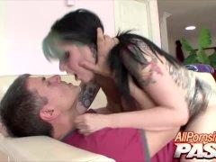 Hot Sex With Tattooed Babe Nicole Malice
