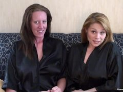 Busty Amateur Sapphic Friends Playing Together