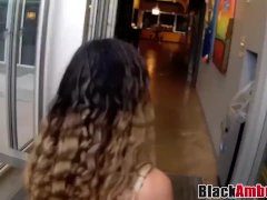 Curly Hair Mary Hops On Surprise Bbc For Anal Creampie