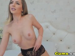 My Hot Big Titted Neighbor With Great Tits Fucks Cunt With Toy