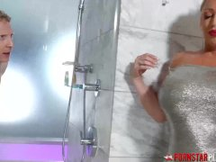 Cougar Alura Jenson Creampied In The Douche