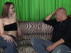 Sweet Brunette Amateur Will Do Anything To Become A Star