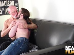 Bearfilms Inked Bear Jeremy Feist Barebacked By Mature Stud