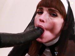 TRANSEROTICA Nun Natalie Mars Sins By Fucking Sex Machine