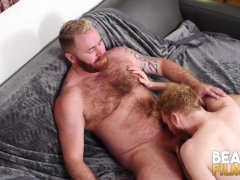 Bearfilms Blond Cub Cooper Roads Hammered Raw By Parent Bear