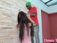 Big Tits TS Estela Duarte Has Her Ass Destroyed by the House Painters BBC