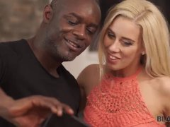 BLACK4K. Amazing interracial sex action by Nesty and black paramour