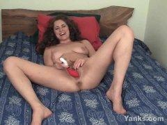 Sexy Alex Masturbating Her Snatch