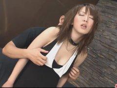 Dirty and busty babe flaunting and fucked hard - More at Japanesemamas com
