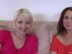 Latina Lesbian And Her Blonde Girlfriend Get Wild
