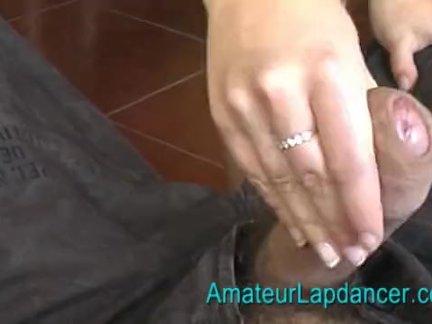 20 y.o. amateur Sandra - lapdance