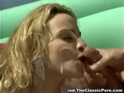 Hard double penetration for sexy blondie