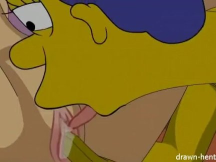 Lois Grfiffin and Marge Simpson Hentai