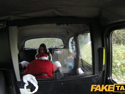FakeTaxi Party girl gets fucked in taxi