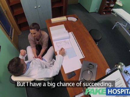FakeHospital Horny saleswoman strikes a deal