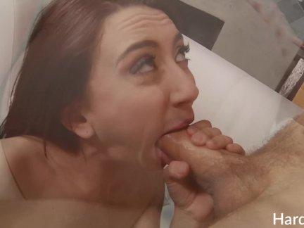 Дженни Глем дико трахается с мужчиной