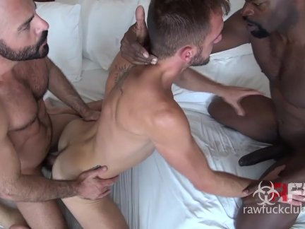 Bareback 3some: Cutler, Adam and Dylan