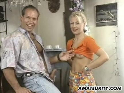Чувак порадовал грудастую сексом