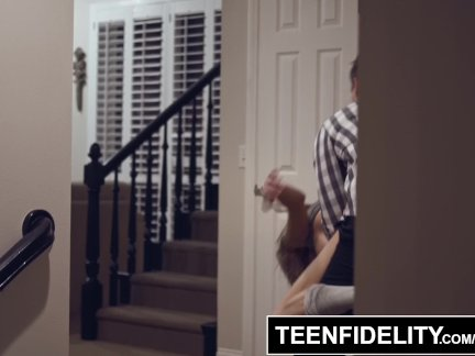 TEENFIDELITY- Madi Meadows Tied Up Creampie