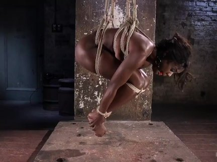 Жестокий рабыня и мучение