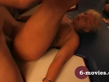 Anal Amateur Group MILF Gangbang Blonde Creampie HD