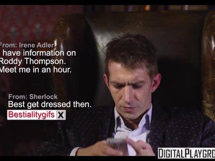 Sherlock A XXX Parody Episode 2 - Dirty lesbians Ella Hughes; Linsey Dawn