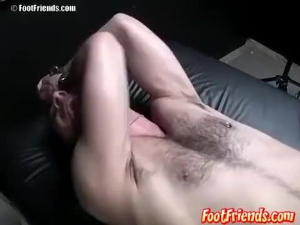 Franco gets to tickle Dogs feet again