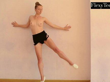 Анна мостик горячая русская гимнастка