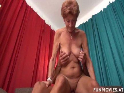 German Granny Got Some Tricks