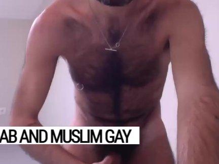 Пушистый и яростный доминирующий. набих в грудь, летающий ковер для арабских гей похоть