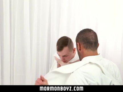Мормонбойз-секретный мормон секс в скрытой комнате