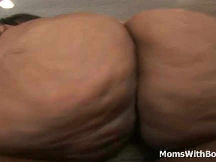 Fat Ass Mama Ms Cleo Hard Couch Fuck By BBC