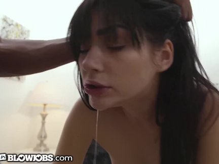 OnlyTeenBlowjobs Naughty Houseguest Wants BBC in Throat!