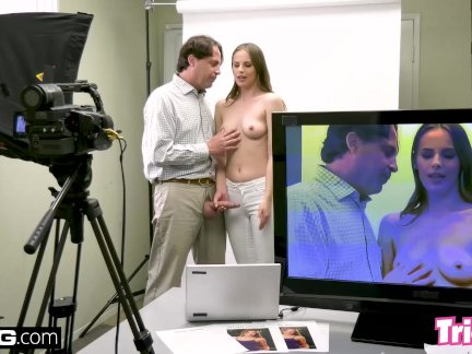 Jillian Janson gets tricked into fucking a casting director!