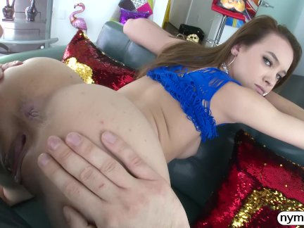 NYMPHO Charity Crawford Creampied By A Big Dick