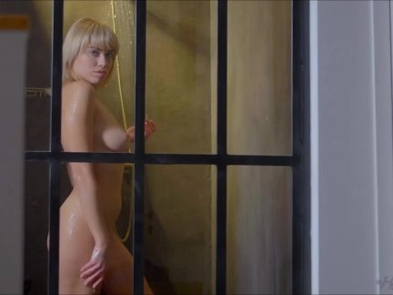 A desirable move with sexy Margo wearing a gstring underwear