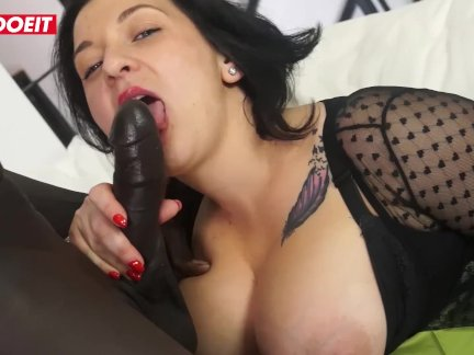 Italian MILF gets Nailed Hardcore in her First Porn by BBC