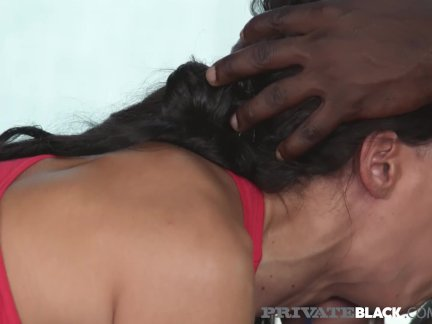 Hot Brunette Alexa Tomas Gets Ass Pounded By Big Black Cock!