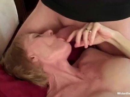 Любительское бабушка любит в тройка действие