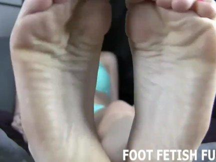Фемдом ноги порно и ноги поклонение видео