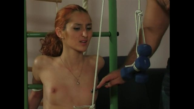 Slave Girl Endurance Training. - sex video