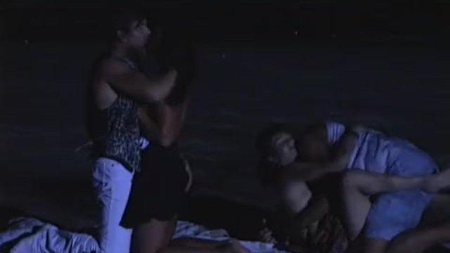 Zana Sun and Vanessa Chase, Night Orgy at - sex video