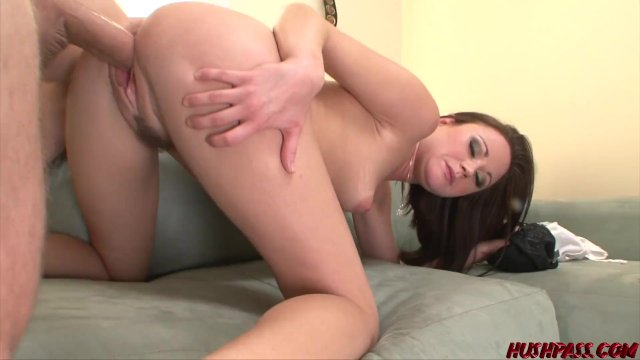 Kinky Syndee Jennings fed cum and hammered by monster dick