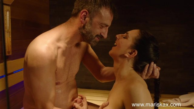 MARISKAX Lovely Liesje gets ass fucked in the sauna