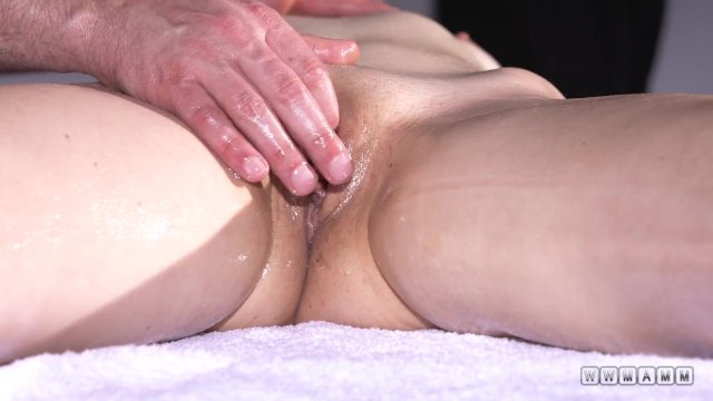 Ginger babe on massage